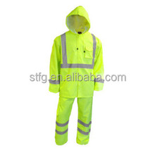 rain coat and pant set reflective raincoat with reflective strips--One day Delay in delivery Refunds 0.5%