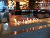WOW, elegant insert intelligent ethanol fireplace burner with key press, remote control and WIFI control for luxury decoration