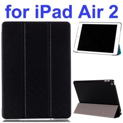 High quality Leather Case Tablet Cover for ipad air 2, for apple ipad air 2 with Stand