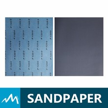 Latex Paper Backing Silicon Carbide Waterproof Abrasive Paper