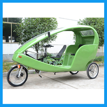 3 wheel motorized velo taxi tricycle