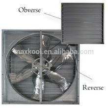 techo de montaje del ventilador y ventilador de flujo axial tipo cono de efecto invernadero con ventilador de escape