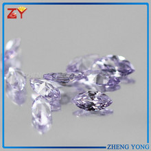 2015 New Bright Lavender Gemstones Marquise Loose CZ Stone