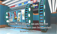 Exciting 5D cinema animation movies Pneumatic systems 5D theater with various special effects