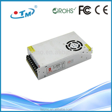 300W output DC 12V 24V 48V power supply network snmp