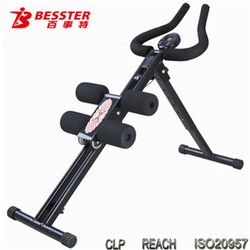 BEST JS-001fitness tv shop export fitness AB Trainer Slide Body gym equipment as seen on tv ab flyer exercise equipment