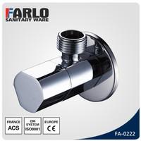 FARLO 2015 new design chromed brass angle cock