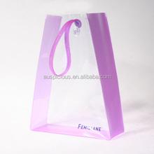 New arrival christmas drawstring gift bags pvc waterproof bag pvc gift bag
