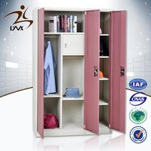 Top quality factory direct sales 3 door almirah design / cheap wardrobe closet