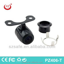 with wide lens and clear vision car front and rear camera, car front view camera