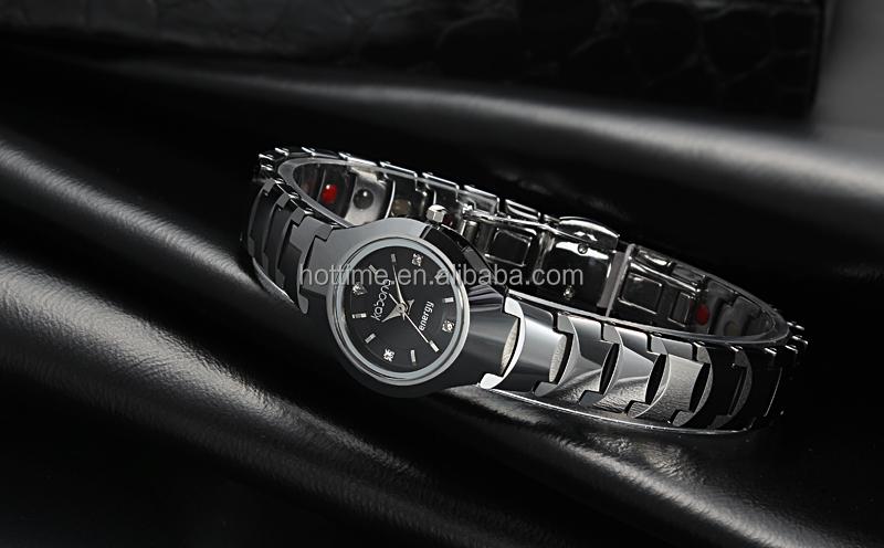 2014 Top Sale Latest Kabona 3 in 1 Tungsten Fashion Lady Watch