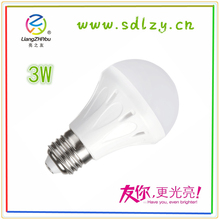 BPT material high quality LED bulb lights for indoor use double colour light