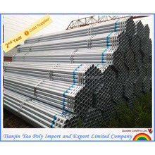 high quality 100mm diameter hot dipped galvanized steel pipe
