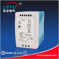 Factory outlet DIN rail 100w sqwitching power supply CE RoHS approved DR-100w 12v 7.5a single output switching power supply