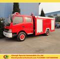 Marca nova bomba de incêndio de caminhão, dongfeng caminhão de bombeiros, pequeno incêndio bomba de água especificação