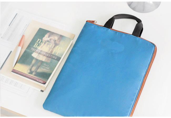 Gros custom belle coréenne étanche cosmétique sac de papier