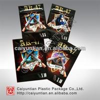 Cheap foil spice potpourri ziplock bag/ AK-47 wholesale for potpourri