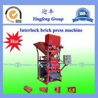 Hot sale ! China Yingfeng ECO 2700 hydraform brick making machine in south africa