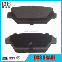 auto parts brake pad price for peugeot 206
