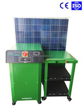 inverter, PV panel, gel battery integrated, 3KW home application solar power system 220V
