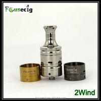 Focusecig wholesale double airflow control dula coil 2wind wax vaporizer atomizer
