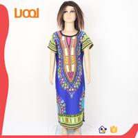 wholesale children's boutique clothing dashiki kids girls dress