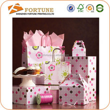 Import China goods making paper gift bag/paper bag with logo print