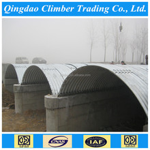 corrugated steel plates for structural plate arch