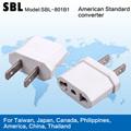 De alta calidad adaptador de enchufe, americano toma de conversión, adaptador universal de viaje plug