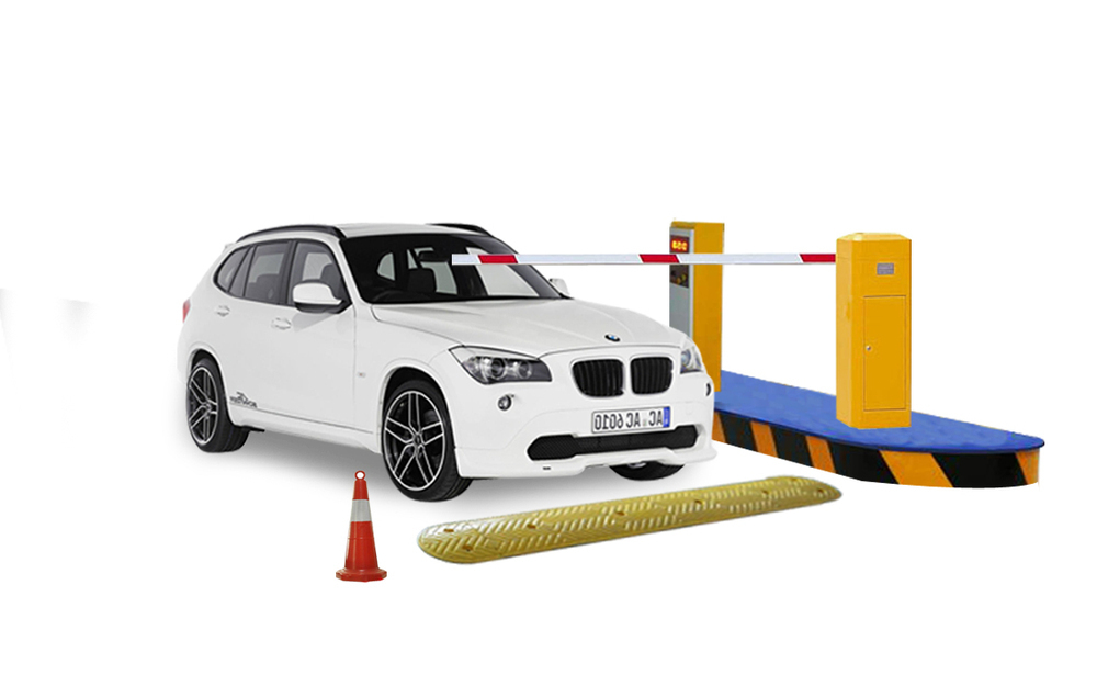 Road barrier gate car traffic