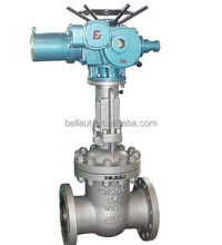 electric actuated gate valve, stem gate valve