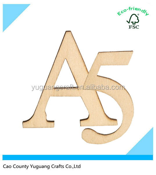 Custom Wooden Letters Numbers And Punctuation