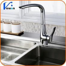 Ewin 2015 Hot sale Kitchen faucet Cuisine L-shape kitchen sink mixer in chrome