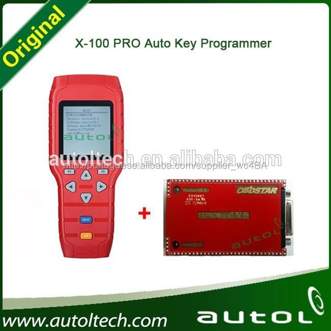 X100 pro programador chave ferramenta de programação imobilizador eeprom + odómetro + programador