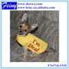 Safety warning pet vest/dog's reflective safety vest