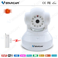 viewed by android/ios app Intelligent Security CMOS Sensor Smart Alarm IP Camera FCC,CE,ROHS Certification