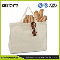 Hot sale Cotton canvas tote shopping bag wholesale cheap china, bread bag