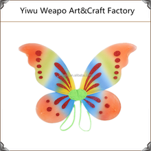 2015 Promotion Colorful Carnival Wings crafts Large Angel Handmade Butterfly Wings BW-216
