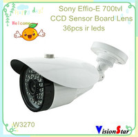 Video camera security better day night vision 700tvl ccd sony effio-e ip66 cctv control bullet zoom camera