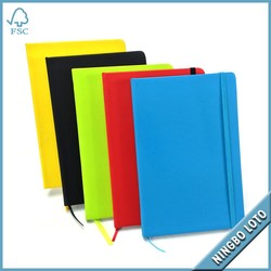 Promotion Custom PU Leather Notebook, Leather Diary, Wholesale Leather Journal