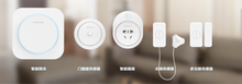 Iphone and Android remote control wifi smart home security system