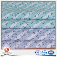 floral pattern yarn dyed 100% cotton poplin printed fabric for shirting
