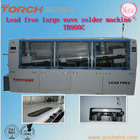 TB980C large size lead free wave soldering machine