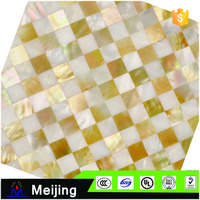 Wholesale cheap price mother of pearl mosaic tiles for beautiful wallpapers