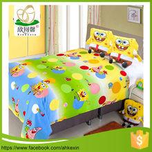 China popular children cotton fabric tussah silk comforter