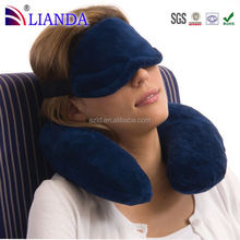 Memory foam forms perfectly to your neck for maximum support c shape neck pillow