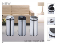 European household fashion ideas intelligent induction garbage can