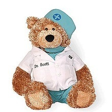 OEM designs high quality stuffed popular doctor&nurse teddy bear plush toys