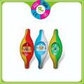 colorido únicas banda de silicone relógios de quartzo para as crianças