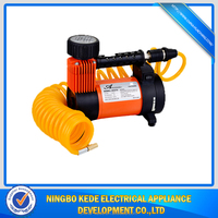 Good quality Professional Supplier 12V mini air compressor / electric air compressor with three adaptors
